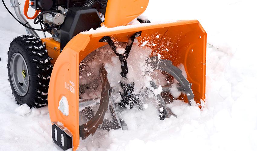 Ремонт снегоуборщика своими руками